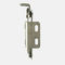 stainless steel hinge / adjustable-friction / spring / weld-on