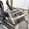 wet blast cabinet / manual / stainless steel / conveyor