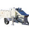 trailer-mounted concrete pump / for construction / for mining applications
