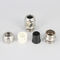 nickel-plated brass cable gland / stainless steel / IP68 / IP67