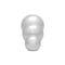 threaded knob / ball / aluminum