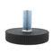 machine foot / nylon / steel / adjustable