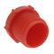 cylindrical plug / threaded / polyethylene / protection