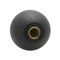 threaded knob / push-pull / round / thermoplastic
