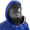 work coveralls / chemical protection / waterproof / laminated material