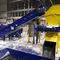 flexible conveyor belt / modular / chevron / rubber