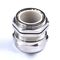 nickel-plated brass cable gland / stainless steel / IP68 / metric