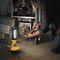 compact fluorescent tube flashlight / work / impact-resistant