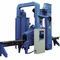 roller shot blasting machine / for tubes / continuous