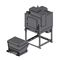 dry vacuum cleaner / three-phase / for the metallurgical industry / foundry