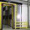sliding door / PVC / industrial / indoor