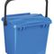 PP waste bin / for household waste / with lid / with handle