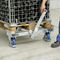 transport cart / galvanized steel / two-sided loading / anti-static