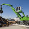 wheel-mounted material handler / diesel fuel / hydraulic