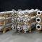 shell and tube heat exchanger / liquid/liquid / gas/liquid / stainless steel