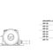 electric vibrator / for concrete / external