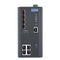 managed ethernet switch / 8 ports / DIN rail mounted / wall-mount