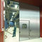sliding door / stainless steel / for the food industry / industrial