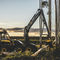 rubber-tired forestry harvester / aerial crane