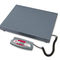 platform scale / benchtop / with LCD display / compact
