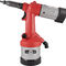 hydro-pneumatic riveting tool / for inserts / floor-standing