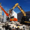 rotary demolition grapple / hydraulic / for excavators