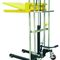 manual stacker truck / walk-behind / for warehouses / for pallets