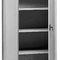 storage cabinet / workshop / floor-mounted / double-door