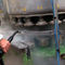 steam cleaner / three-phase / mobile / for heavy-duty applications