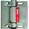 die-cast zinc hinge / corner / 180° / with built-in safety switch
