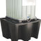 cubitainer containment bund / polyethylene / rigid / free-standing