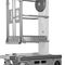 lifting platform / mobile / personnel / with safety railing