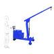 mobile crane / folding / electric / height-adjustable