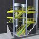 multi-tier industrial mezzanine / for industrial flooring / platform