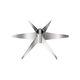 6-blade impeller / for agitators / axial-flow