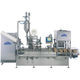 filling and wrapping machine with cartoning / for food