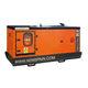 three-phase generator set / diesel / transportable / 60 Hz