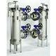 liquid filter / basket / duplex / continuous