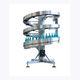 spiral conveyor / belt / for the food industry / for bottles