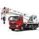 truck-mounted crane / boom / telescopic / hydraulic