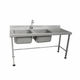 sink for the food industry / hand washing / hygienic