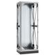 cabinet anti-vibration mount / rectangular / sheet metal / galvanized