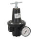 compressed air pressure regulator / for inert gases / single-stage / membrane
