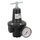 compressed air pressure regulator / for inert gases / membrane / single-stage