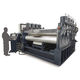 sheet metal straightening machine / for metal parts