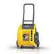 reciprocating piston compressor / air / portable / on casters