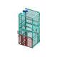 platform goods lift / electric / for transport in vertical position / industrial
