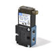 poppet pneumatic directional control valve / direct-operated / solenoid-operated / 4/2-way
