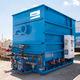 disc filtration unit / for wastewater treatment / backwash / hydraulic
