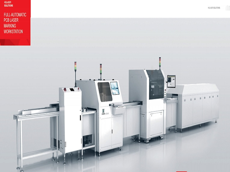 Full-Automatic PCB laser marking Workstation - Wuhan, Hubei